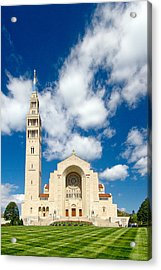 Basilica Of The National Shrine Of The Immaculate Conception Acrylic Print by Dan Wells