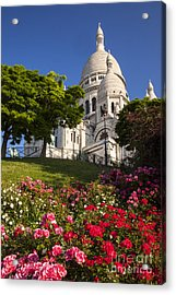 Basilique Du Sacre Coeur Acrylic Print by Brian Jannsen