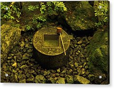 Acrylic Print featuring the photograph Basin To Purify And Humble by Craig Wood
