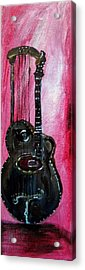 Acrylic Print featuring the painting Bass  2 by Amanda Dinan
