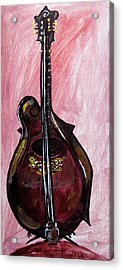 Acrylic Print featuring the painting Bass by Amanda Dinan