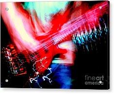 Bass Guitar 1 Acrylic Print by Jason D Rogers