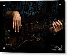 Bass Side Blues Acrylic Print by Steven Digman