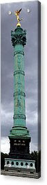 Bastille Paris Acrylic Print by Andrew Fare