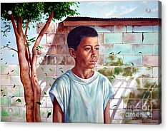 Bata The Filipino Child Acrylic Print