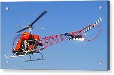 Batcopter Acrylic Print