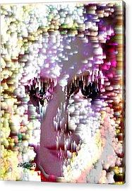 Bathing In Moonbeams Acrylic Print by Seth Weaver