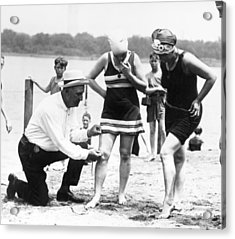 Bathing Suits, 1922 Acrylic Print by Granger