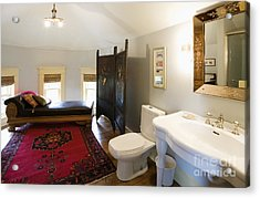 Bathroom With Sitting Area Acrylic Print