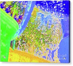 Batique Mosaic Acrylic Print