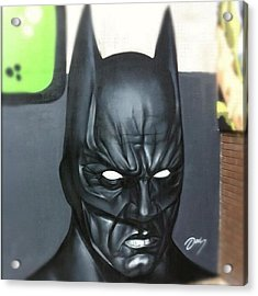 #batman By #jodyt During Acrylic Print