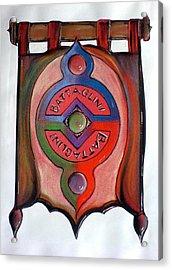 Battaglini Family Crest Acrylic Print
