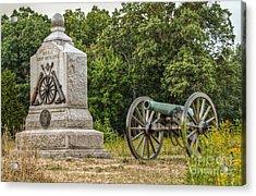Battery D 1st Ny Light Artillery At Gettysburg Acrylic Print by Randy Steele