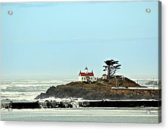 Acrylic Print featuring the photograph Battery Point Lighthouse II by Jo Sheehan