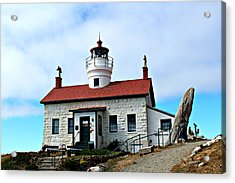 Acrylic Print featuring the photograph Battery Point Lighthouse by Jo Sheehan