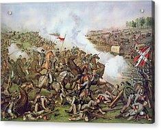Battle Of Five Forks Virginia 1st April 1865 Acrylic Print