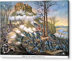Battle Of Lookout Mount Acrylic Print by Granger