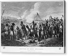 Battle Of New Orleans Acrylic Print by Granger