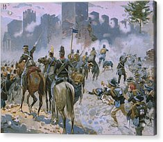 Battle Of Solferino And San Martino Acrylic Print