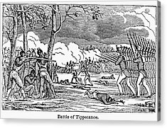 Battle Of Tippecanoe Acrylic Print by Granger