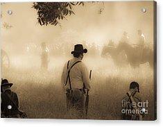 Battlefield Acrylic Print by Kim Henderson