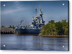 Battleship Nc Acrylic Print by Christina Durity