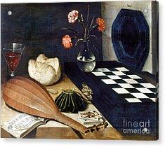 Baugin: Still Life Acrylic Print by Granger