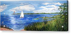 Bayville Marsh Acrylic Print