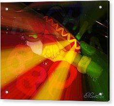 BBQ Acrylic Print