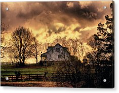 Be Calm - I Am With You - Hdr - Artist Cris Hayes Acrylic Print by Cris Hayes