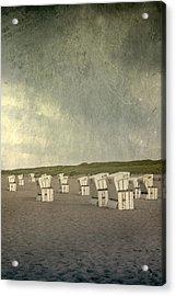 Beach Chairs Acrylic Print by Joana Kruse