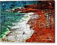 Beach Fantasy Acrylic Print
