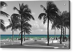 Acrylic Print featuring the photograph Beach Fun by Raymond Earley