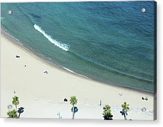 Beach Acrylic Print by G Fletcher