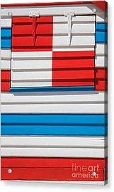 Beach House - Tricolore I Acrylic Print by Hideaki Sakurai