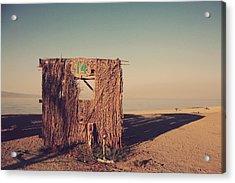 Beach Hut Number Fourteen Acrylic Print