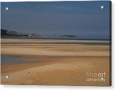 Beach Acrylic Print by Keith Sutton