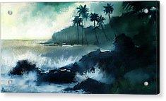 Beach  Acrylic Print by Kiran Kumar
