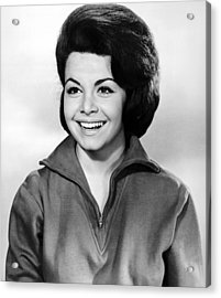 Beach Party, Annette Funicello, 1963 Acrylic Print by Everett
