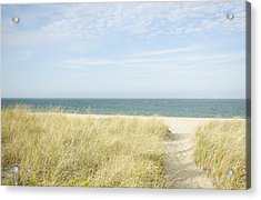 Beach Path, Nantucket Acrylic Print by Blue Line Pictures