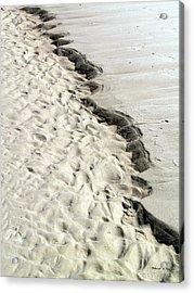 Beach Sand Acrylic Print