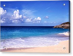 Beach Serenity Acrylic Print