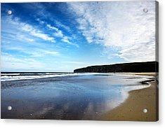 Beach Acrylic Print by Svetlana Sewell