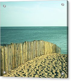 Beach Acrylic Print by SylvainCollet