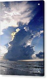 Beach Thunder 2 Acrylic Print
