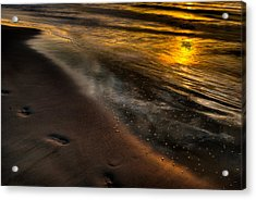 Beach Walk - Part 1 Acrylic Print