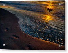 Beach Walk - Part 4 Acrylic Print