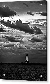 Beacon In The Clouds Acrylic Print by Randall  Cogle