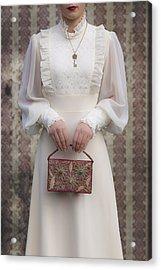 Beaded Handbag Acrylic Print by Joana Kruse