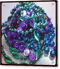 Beads In A Heap Acrylic Print
